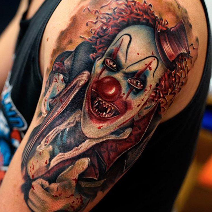 Mega Horror Galeria Tattoos Tatuaże Kostnica Pozornie